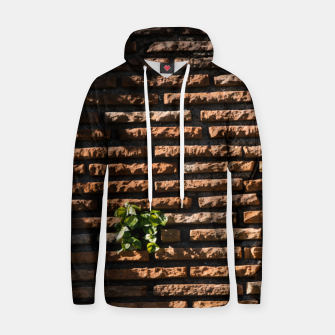 Thumbnail image of Tiles and plants Cotton hoodie, Live Heroes