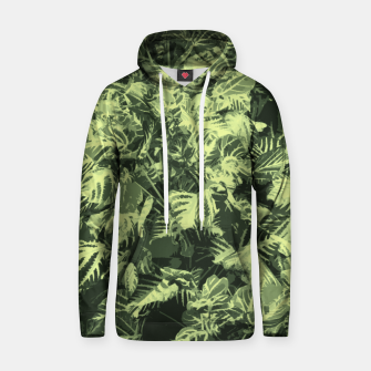 Thumbnail image of Foliage Cotton hoodie, Live Heroes