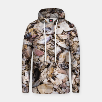Thumbnail image of Broken shells Cotton hoodie, Live Heroes