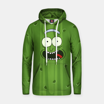 Thumbnail image of Pickle Rick Cotton hoodie, Live Heroes