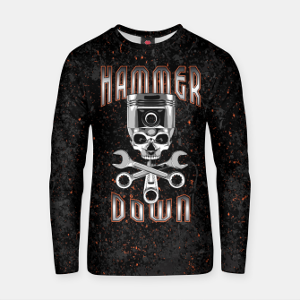 Thumbnail image of Hammer Down Cotton sweater, Live Heroes