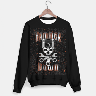 Thumbnail image of Hammer Down Sweater regular, Live Heroes