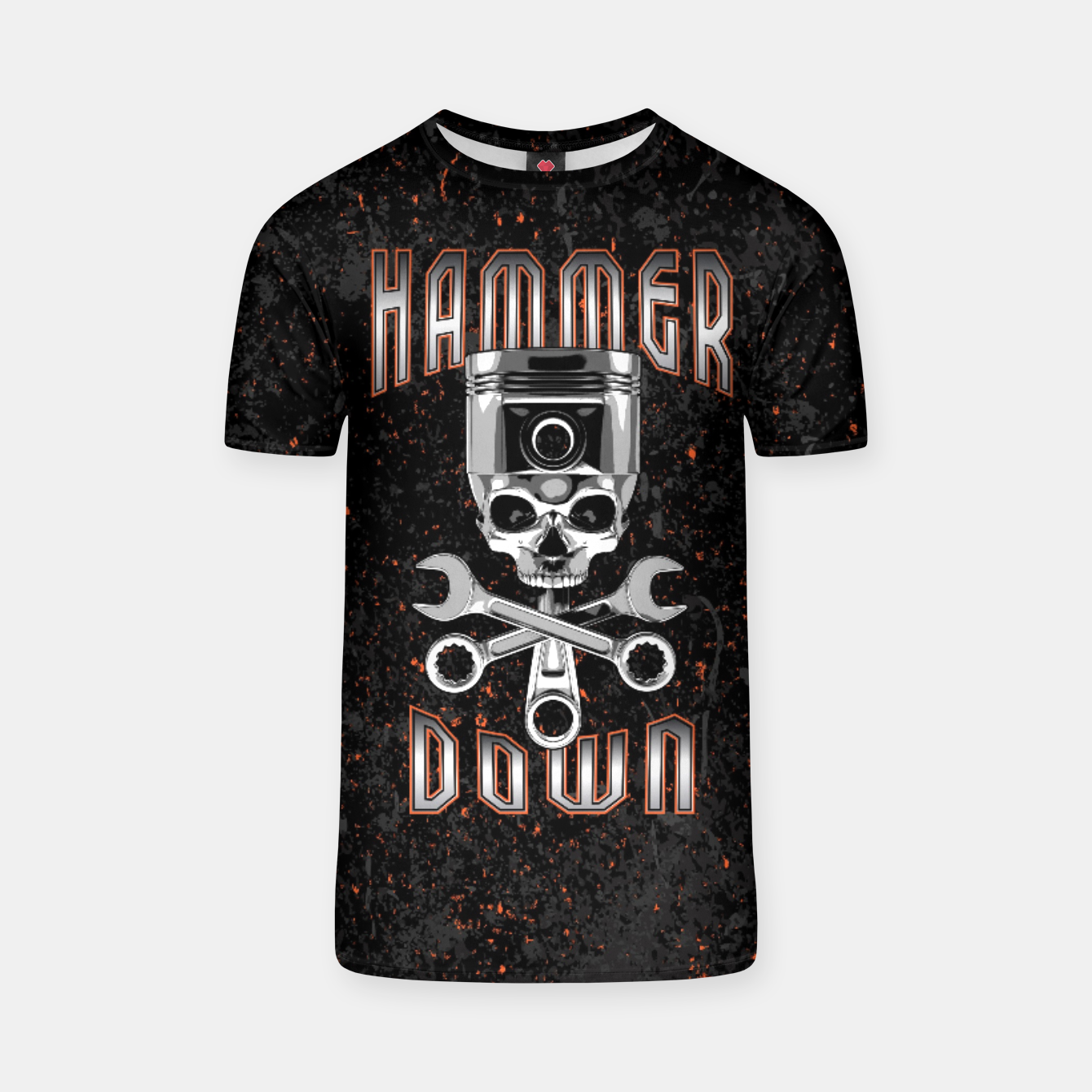 Image of Hammer Down T-shirt - Live Heroes