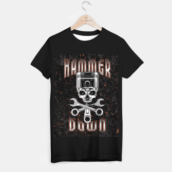 Thumbnail image of Hammer Down T-shirt regular, Live Heroes