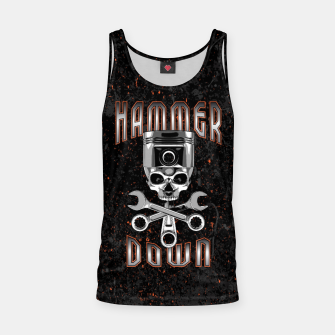 Thumbnail image of Hammer Down Tank Top, Live Heroes