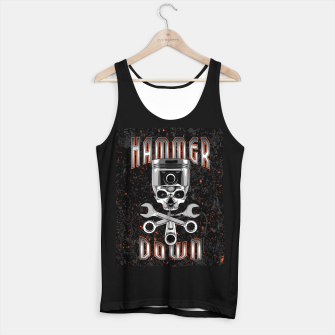 Thumbnail image of Hammer Down Tank Top regular, Live Heroes
