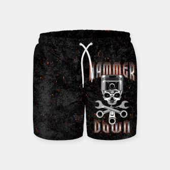 Thumbnail image of Hammer Down Swim Shorts, Live Heroes