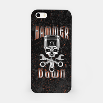 Thumbnail image of Hammer Down iPhone Case, Live Heroes