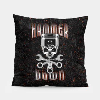 Thumbnail image of Hammer Down Pillow, Live Heroes