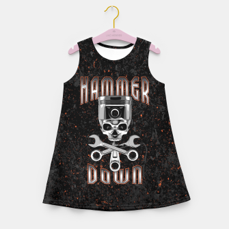 Thumbnail image of Hammer Down Girl's summer dress, Live Heroes