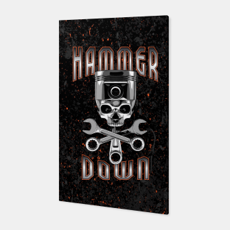 Thumbnail image of Hammer Down Canvas, Live Heroes