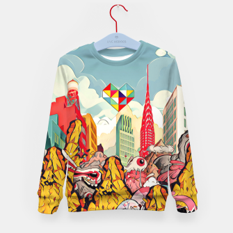 Thumbnail image of City Kid's sweater, Live Heroes