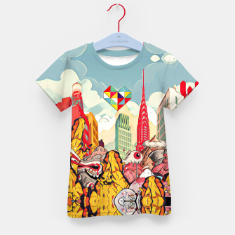 Thumbnail image of City Kid's t-shirt, Live Heroes