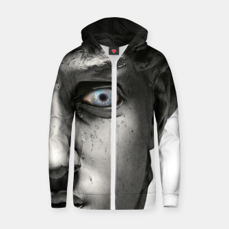 Imagen en miniatura de David's Tears Cotton zip up hoodie, Live Heroes