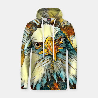 AnimalArt_Eagle_20170603_by_JAMColors Cotton hoodie miniature