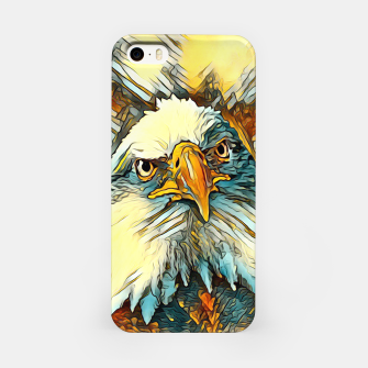 AnimalArt_Eagle_20170603_by_JAMColors iPhone Case miniature