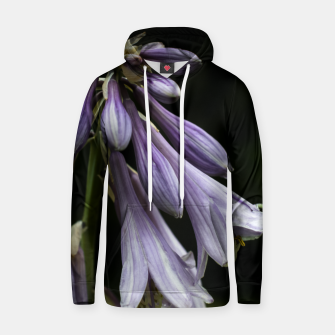 Thumbnail image of Plantain lilies Cotton hoodie, Live Heroes