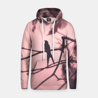 Thumbnail image of Hummingbird silhouette Cotton hoodie, Live Heroes