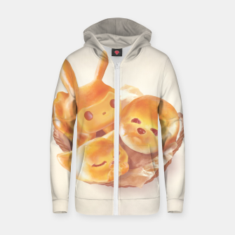 Miniatur The Soul of the Bread Cotton zip up hoodie, Live Heroes