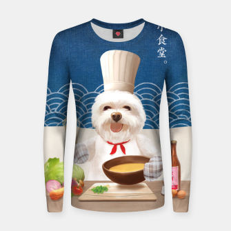 Imagen en miniatura de Little Chef Woman cotton sweater, Live Heroes