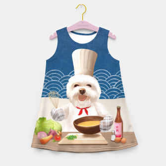 Imagen en miniatura de Little Chef Girl's summer dress, Live Heroes