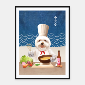 Thumbnail image of Little Chef Framed poster, Live Heroes
