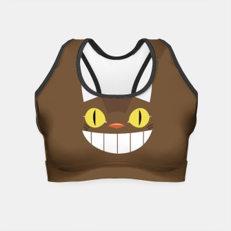 Miniature de image de Totoro Cat Crop Top, Live Heroes