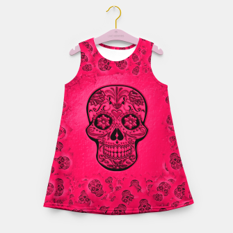 Miniaturka Skull20170266_by_JAMColors Girl's summer dress, Live Heroes