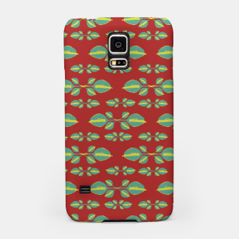 Miniaturka Tropical Stylized Floral Pattern Samsung Case, Live Heroes