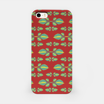 Miniaturka Tropical Stylized Floral Pattern iPhone Case, Live Heroes