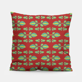 Miniaturka Tropical Stylized Floral Pattern Pillow, Live Heroes