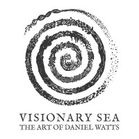 Visionary Sea, The Art of Daniel Watts logo