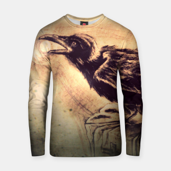 Thumbnail image of Crow Cotton sweater, Live Heroes