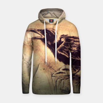 Thumbnail image of Crow Cotton hoodie, Live Heroes