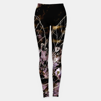 Thumbnail image of It turned to flower Leggings, Live Heroes