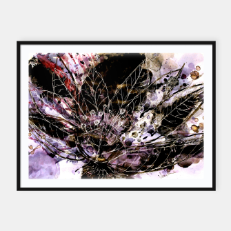 Thumbnail image of It turned to flower Framed poster, Live Heroes