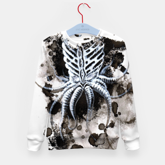 Thumbnail image of Spiritual Cthulhu Kid's sweater, Live Heroes