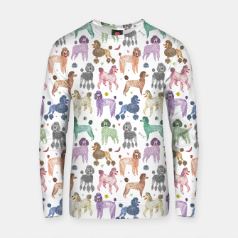 Thumbnail image of Poodles by Veronique de Jong Cotton sweater, Live Heroes