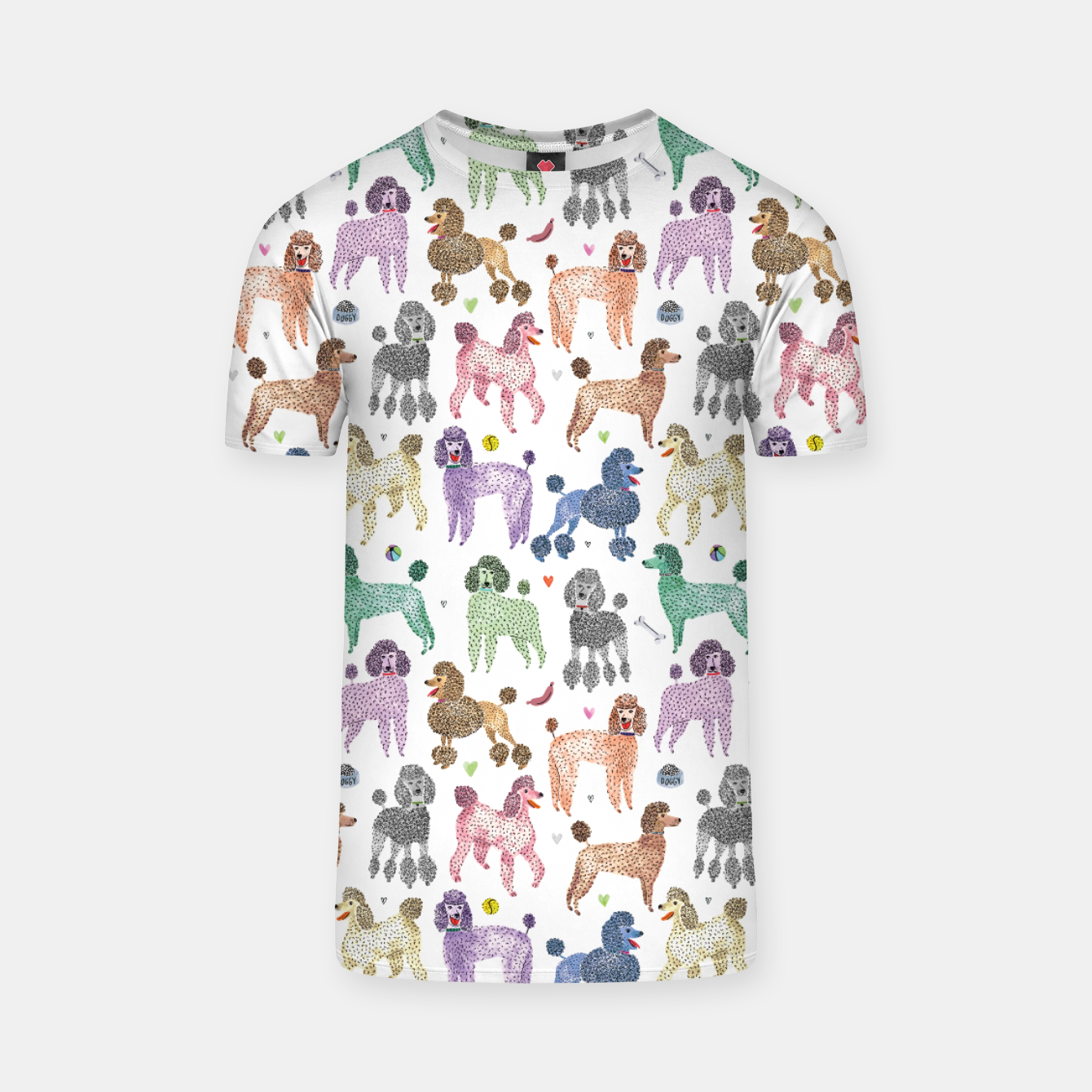 Image of Poodles by Veronique de Jong T-shirt - Live Heroes