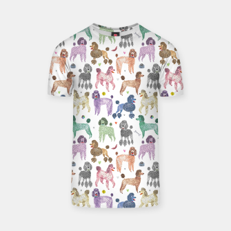 Thumbnail image of Poodles by Veronique de Jong T-shirt, Live Heroes