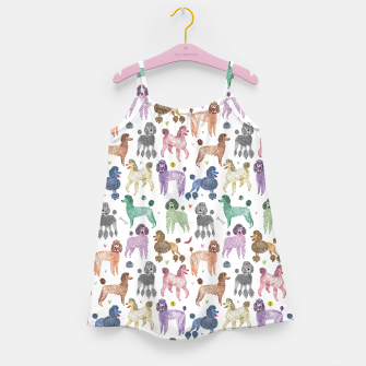 Thumbnail image of Poodles by Veronique de Jong Girl's dress, Live Heroes