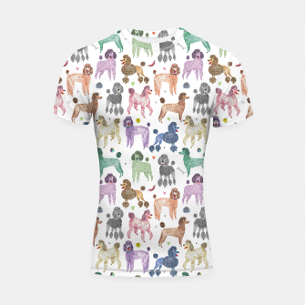 Thumbnail image of Poodles by Veronique de Jong Shortsleeve rashguard, Live Heroes