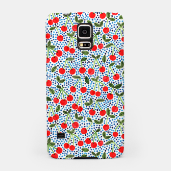 Thumbnail image of Cherries! by Veronique de Jong Samsung Case, Live Heroes