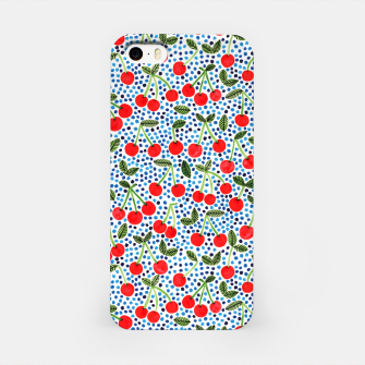 Thumbnail image of Cherries! by Veronique de Jong iPhone Case, Live Heroes
