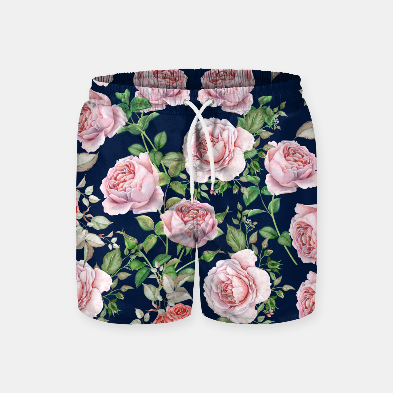 Image of Mysteries Roses Swim Shorts - Live Heroes