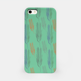 Miniaturka iPhone case green with Exotic leaves, Live Heroes