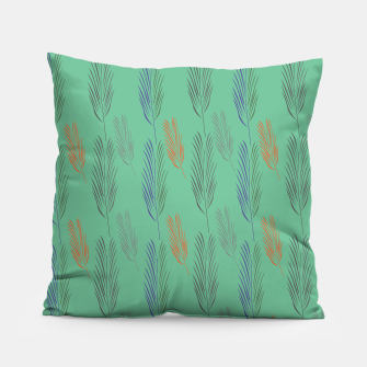 Miniaturka Design pillow green with Exotic leaves, Live Heroes