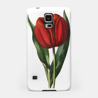 Miniaturka Samsung case with Red Tulip, Live Heroes