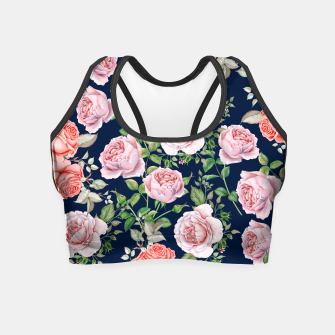 Mysteries Roses Crop Top thumbnail image