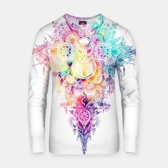 Thumbnail image of anosognosia - mandala Cotton sweater, Live Heroes